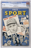 Golden Age (1938-1955):Non-Fiction, True Sport Picture Stories V2#6 Crowley Copy pedigree (Street &Smith, 1944) CGC NM+ 9.6 Off-white to white pages....