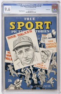 True Sport Picture Stories V2#6 Crowley Copy pedigree (Street & Smith, 1944) CGC NM+ 9.6 Off-white to white pages...