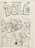 Original Comic Art:Covers, Guy Colwell - Doll #8 Cover Original Art (Rip Off Press, 1992)....