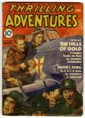 """Pulps:Adventure, Thrilling Adventures """"Thunder Jim Wade"""" Group (Standard Publishers, 1941) Condition: Average VG.... (Total: 5 Comic Books)"""