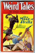 "Pulps:Horror, Weird Tales Robert E. Howard ""Moon of Skulls"" Group (PopularFiction, 1930).... (Total: 2 Comic Books)"