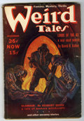 Pulps:Horror, Weird Tales Box Lot (Popular Fiction, 1937-39) Condition: VG unlessotherwise stated....