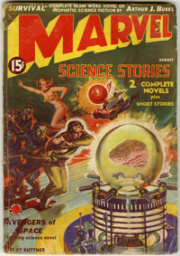 Science Fiction Pulp First Issues Group (Miscellaneous Publishers, 1927-51) Condition: VG unless otherwise stated.... (T...
