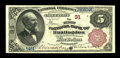 National Bank Notes:Pennsylvania, Huntington, PA - $5 1882 Brown Back Fr. 467 The First NB Ch. # 31....