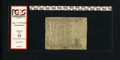 Colonial Notes:Massachusetts, Massachusetts December 7, 1775 1s/4d PCGS Apparent Fine 15....