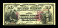 National Bank Notes:Pennsylvania, Greensburg, PA - $20 1875 Fr. 438 The First NB Ch. # 2558. ...