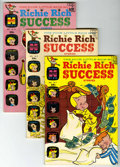 Silver Age (1956-1969):Humor, Richie Rich Success Stories File Copies Group (Harvey, 1966-79) Condition: Average VF/NM....