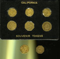 """California Gold Charms, Group Lot of Miscellaneous California """"Gold"""" Charms.... (Total: 8 pieces)"""
