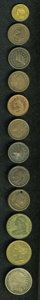 Civil War Patriotics, Group Lot of Miscellaneous Tokens.... (Total: 12 tokens)