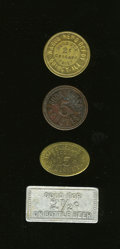 20th Century Tokens and Medals, Group of Four Scarce Illinois Merchant Tokens.... (Total: 4 tokens)