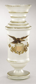 Political:3D & Other Display (pre-1896), 1876 Centennial: Glass Flower Vase...