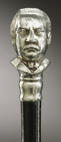 Political:Miscellaneous Political, Grover Cleveland: Exceptionally Nice Walking Stick....