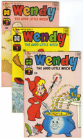 Silver Age (1956-1969):Cartoon Character, Wendy, the Good Little Witch - File Copy Group (Harvey, 1966-70) Condition: VF/NM unless otherwise stated.... (Total: 19 Comic Books)