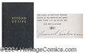 Autographs, Sherwood Anderson Signed Limited Edition Book