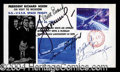 Autographs, Apollo-Soyuz Mission Signed First Day Cover