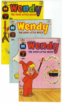 Wendy, the Good Little Witch - File Copy Group (Harvey, 1970-75) Condition: Average VF/NM.... (Total: 21 Comic Books)