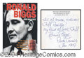 Autographs, Ronnie Biggs Signed Hardcover Book