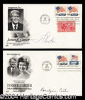 Autographs, Jimmy & Rosalynn Carter Signed Postal Covers