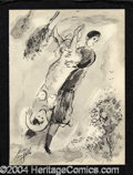 Autographs, Marc Chagall Signed Litho Illustrations V