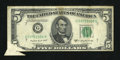 Error Notes:Foldovers, Fr. 1964-G $5 1950C Federal Reserve Note. Fine.. ...