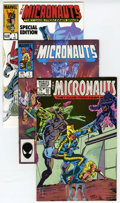 Modern Age (1980-Present):Science Fiction, Micronauts Group (Marvel, 1982-86) Condition: Average NM+....(Total: 37 Comic Books)