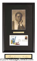 Autographs, Paul Laurence Dunbar Signature Display