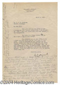 Autographs, W.C. Durant Rare Typed Letter Signed GM