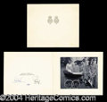 Autographs, Queen Elizabeth & Prince Philip Signed Card