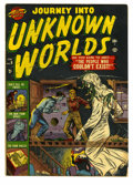 Golden Age (1938-1955):Horror, Journey Into Unknown Worlds #9 (Atlas, 1952) Condition: VG/FN....