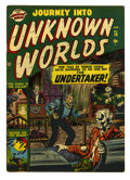 Golden Age (1938-1955):Horror, Journey Into Unknown Worlds #10 (Atlas, 1952) Condition: FN....