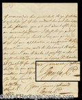 Autographs, King George IV Handwritten Letter Signed