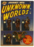 Golden Age (1938-1955):Horror, Journey Into Unknown Worlds #11 (Atlas, 1952) Condition: FN....
