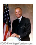 Autographs, John Glenn Signed 16 x 20 Photo