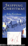 Autographs, John Grisham First Edition Signed Book