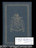 Autographs, Sir Edmund Hillary Signed Easton Press Book