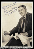 Autographs, James Hilton Vintage Signed Photograph