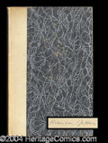 Autographs, Robinson Jeffers Signed Limited Edition Book