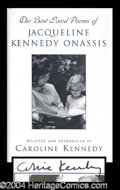 Autographs, Caroline Kennedy Signed First Ed. Book