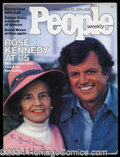 Autographs, Rose Kennedy Rare Signed Magazine
