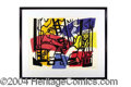 Autographs, Fernand Leger Stone Signed Lithograph