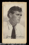 Autographs, Jack London Scarce Signed Photograph