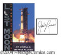 Autographs, James Lovell Signed Book Lost Moon
