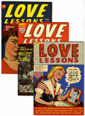 Golden Age (1938-1955):Romance, Love Lessons #1-5 File Copy Group (Harvey, 1949-50) Condition:Average VF/NM.... (Total: 5 Comic Books)