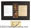 Autographs, Napoleon Signed Italian Document