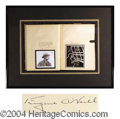 Autographs, Eugene O' Neill Limited Edition Signed Book