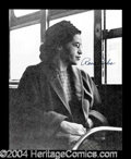 Autographs, Rosa Parks Signed 8 x 10 Photo