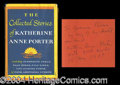 Autographs, Katherine Anne Porter Signed Book