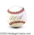 Autographs, Colin Powell Signed Baseball