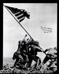 Autographs, Joe Rosenthal Signed Iwo Jima Photograph