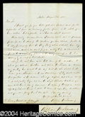 Autographs, William H. Seward Handwritten Letter Signed